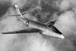 The McDonnell XF-88 Voodoo in flight (USAF)